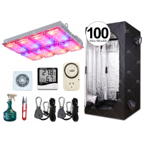 COMBO COMPLETO GROWTECH 180W CREE LED CARPA ACCESORIOS