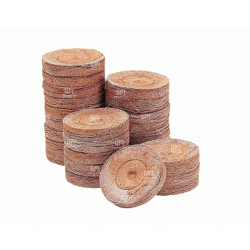 Jiffys Turba Originales Importados 30mm