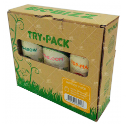 Biobizz Trypack Original Fertilizantes Cultivo Indoor 250ml