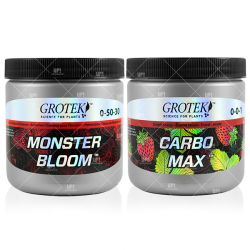 GROTEK MONSTER BLOOM CARBO MAX COMBO 130G FLORACION ENGORDE