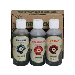 BIOBIZZ TRYPACK ORIGINAL FERTILIZANTES CULTIVO OUTDOOR 250ML