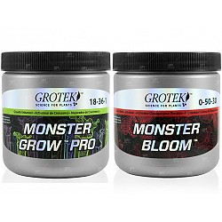 Grotek Monster Grow Monster Bloom combo 130g crecimiento floración