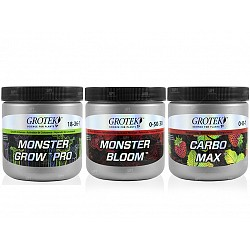 Grotek Monster Grow  Bloom Carbo Max combo completo