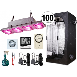 Combo completo Growtech 400w LED carpa accesorios