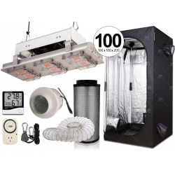 Combo completo Growtech 300w LED carpa con kit anti-olor