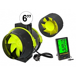 Kit Ventilacion Indoor Completo Garden High Pro 6 Pulgadas