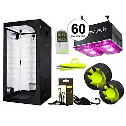Combo Garden High pro carpa accesorios LED 200w indoor