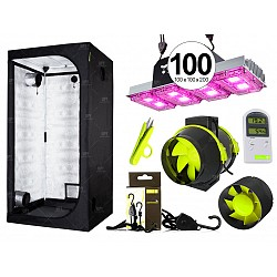 Combo Garden High pro carpa accesorios LED 400w indoor