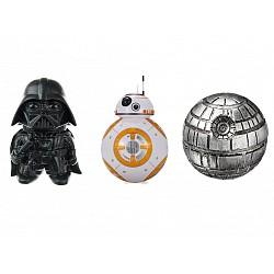 PICADORES GRINDERS COMBO STAR WARS 3 PARTES
