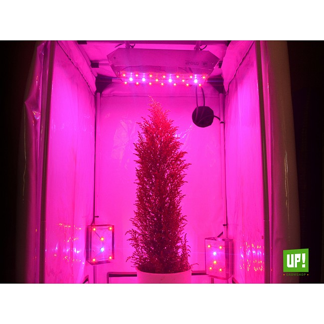 Up growshop kit cultivo indoor panel led full spectrum carpa homebox ventilaci n - Led cultivo interior ...